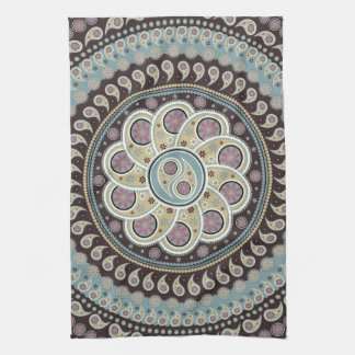 Paisley Mandala Tea Towel