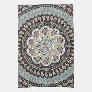 Paisley Mandala Towel