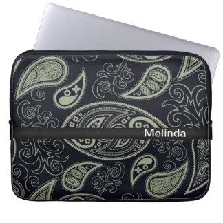 Paisley Neoprene Laptop Sleeve
