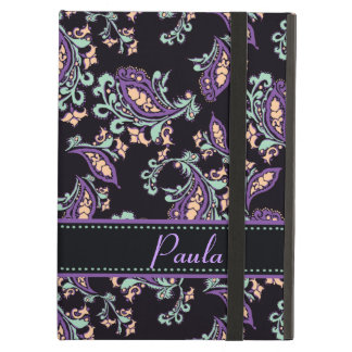 Paisley on Black iPad Air Cover