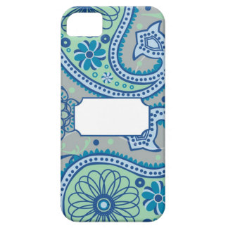 Paisley Paloma Monogrammed Barely There iPhone 5 Case