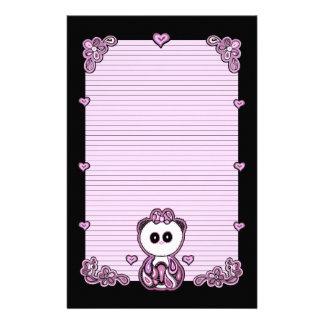 Paisley Panda Paper Stationery Design