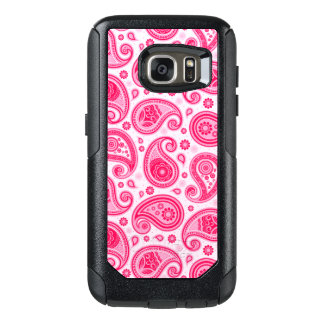 Paisley pattern cute girly pink elegant OtterBox samsung galaxy s7 case
