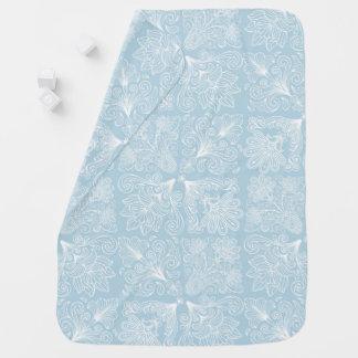 Paisley Pattern  Pastels Baby Blanket