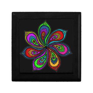 Paisley Pinwheel of Colors Gift Box
