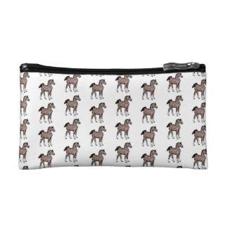 Paisley Pony Cosmetic Bag