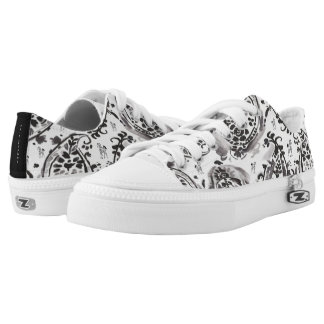 Paisley Pony Patterned Sneakers