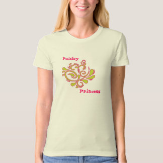 Paisley Princess T-Shirt