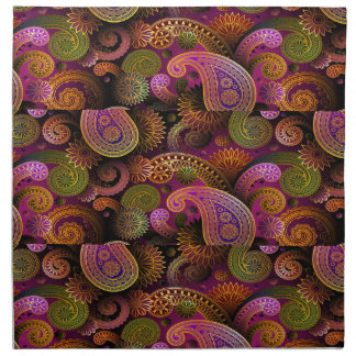 Paisley Purple Napkin