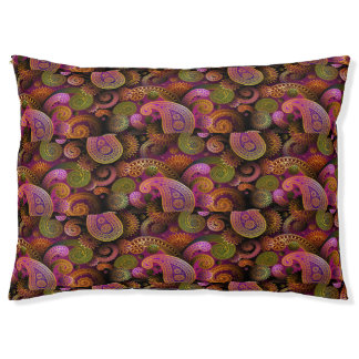 Paisley Purple Pet Bed