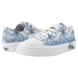 Paisley silver element. low tops