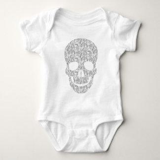 Paisley Skull Baby Bodysuit