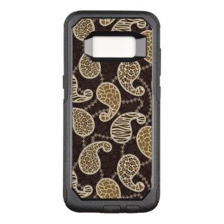 Paisley style background OtterBox commuter samsung galaxy s8 case