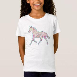 Paisley Trotting Horse Babydoll Shirt