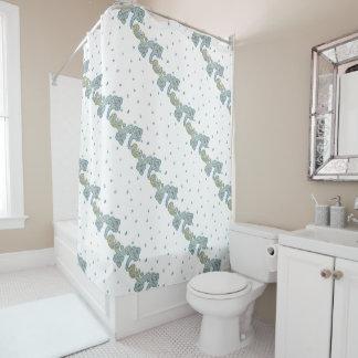 Paisley wedding design pattern shower curtain