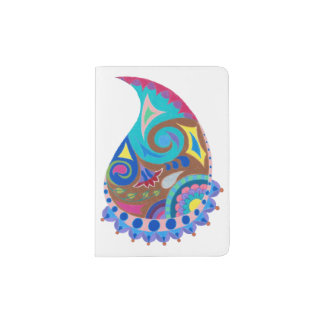 Paisley Whimsy Passport Cover