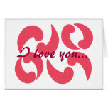 Paisleys in love, Marriage Proposal Card
