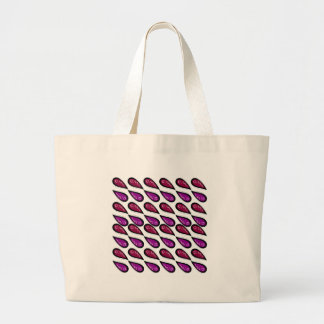 Paisleys Vintage design on white Large Tote Bag