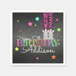 Pajama Party Birthday Paper Napkins