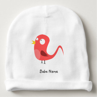 Pajarito-rooster-2400px Baby Beanie