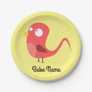 Pajarito-rooster-2400px Paper Plate