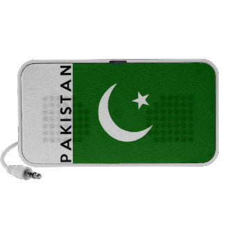 pakistan country flag text name notebook speakers