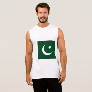 Pakistan Flag Sleeveless Shirt
