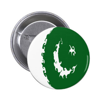 Pakistan Gnarly Flag Buttons