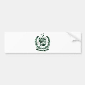 Pakistan National Emblem Bumper Sticker