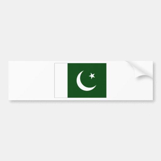 Pakistan National Flag Bumper Stickers