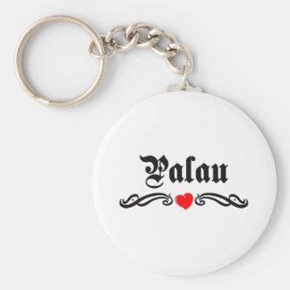 Pakistan Tattoo Style Basic Round Button Key Ring