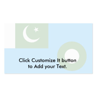 Pakistani Air Force, Pakistan flag Pack Of Standard Business Cards