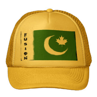 Pakistani - Canadian Fusion Mesh Hats