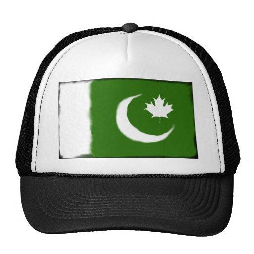Pakistani - Canadian Fusion Mesh Hat