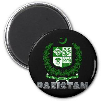 Pakistani Emblem 6 Cm Round Magnet