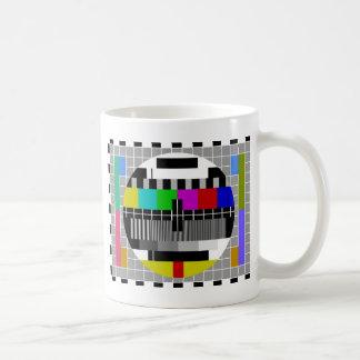 PAL TV test signal Basic White Mug