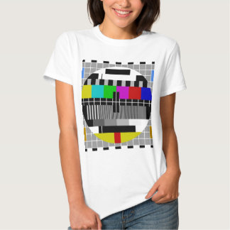 PAL TV test signal T-shirts
