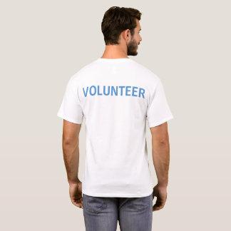 PAL Volunteer Logo Shirt - White