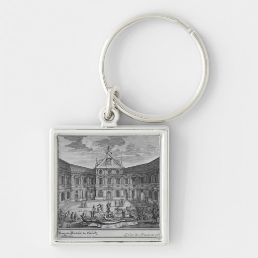 Palace at Munich, Germany Key Chain