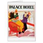 Palace Hotel Greeting Card