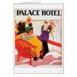 Palace Hotel Greeting Card