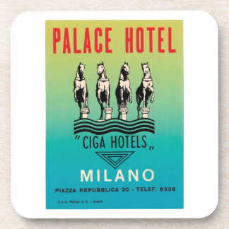 Palace Hotel Milano Drink Coaster
