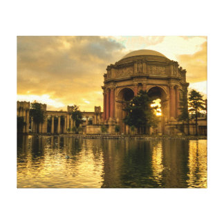 Palace of Fine Arts Canvas Print