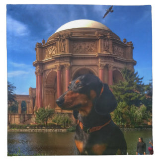 Palace of Fine Arts Napkin
