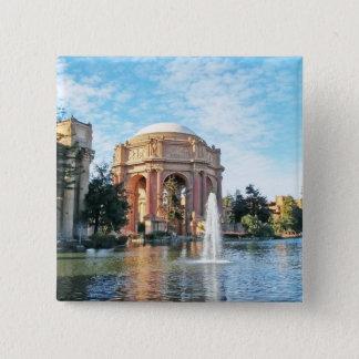 Palace of Fine Arts - San Francisco 15 Cm Square Badge