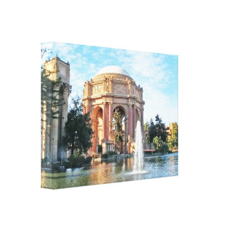 Palace of Fine Arts - San Francisco Canvas Print