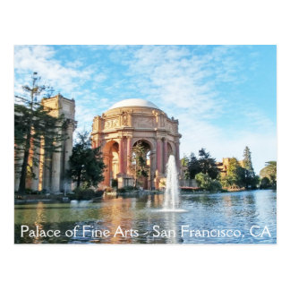 Palace of Fine Arts - San Francisco Postcard
