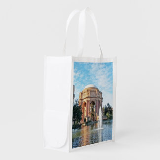 Palace of Fine Arts - San Francisco Reusable Grocery Bag