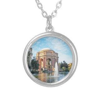 Palace of Fine Arts - San Francisco Silver Plated Necklace