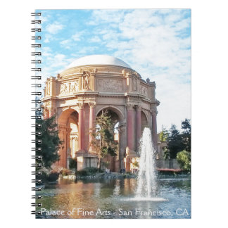 Palace of Fine Arts - San Francisco Spiral Notebook
